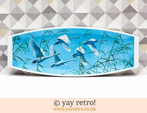 224: Flying Swan Melamine Tray (£15.70)