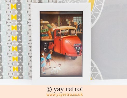 0: Red Truck 1956 Framed Picture (£7.95)