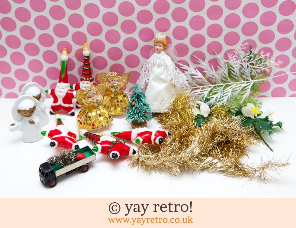 Vintage Christmas.Vintage Christmas Joblot Buy Yay Retro Handmade Crochet Online Arts Crafts Shop Crochet Shawls Wraps Blankets Hot Water Bottle Covers And