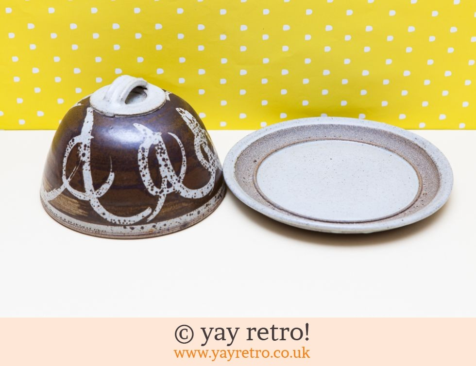Studio Pottery Cheese Dome (£13.75)