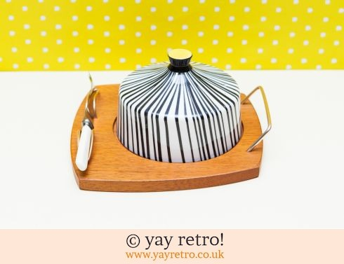 108: Excellent Wyncraft Stripy Cheese Dome (£29.95)