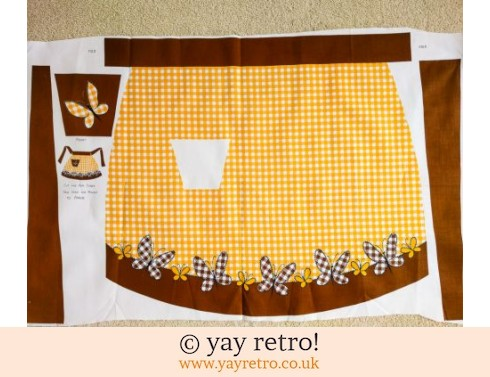 Cut & Make your own Vintage Apron (£6.00)