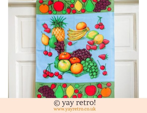 0: Kitsch Pineapple Tea Towel (£8.50)