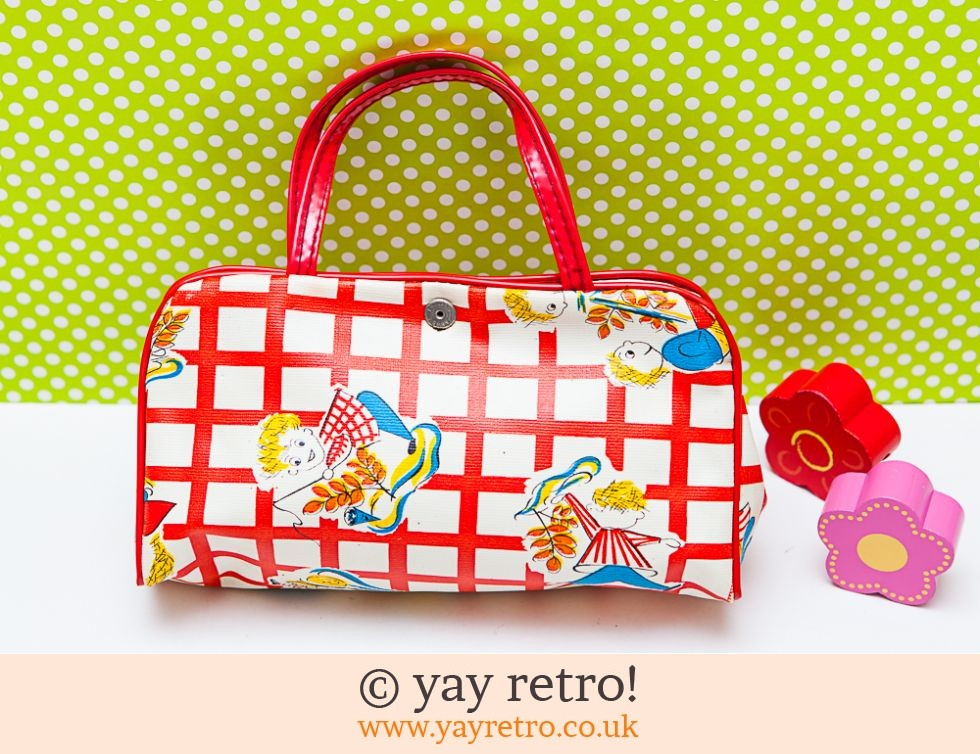 Dinky Vintage Kitsch Illustrated Bag (£13.75)