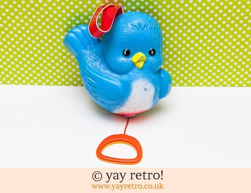535: Fisher Price Bluebird Hanging Musical Box 1968 (£17.00)