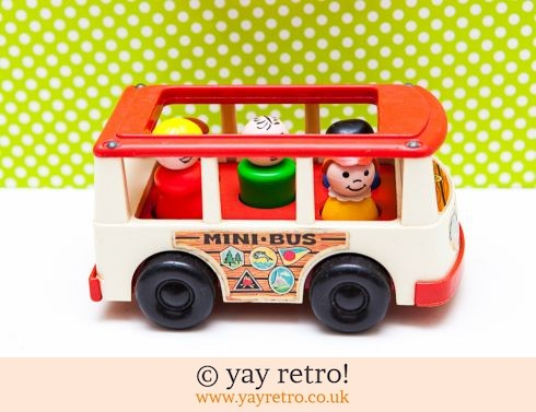 535: Fisher Price 1969 Mini Bus (£19.50)