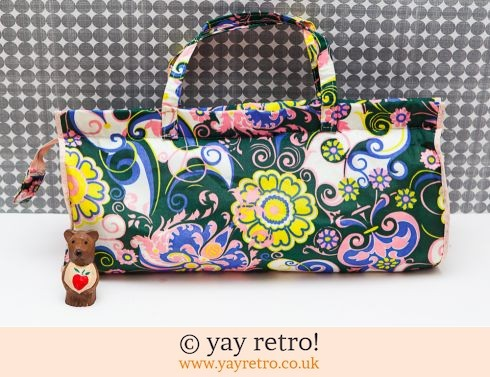 Vintage Flower Power Bag (£10.00)
