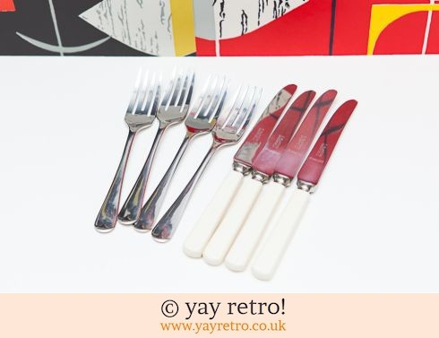 0: Gorgeous Vintage Cake Knife & Forks (£14.50)