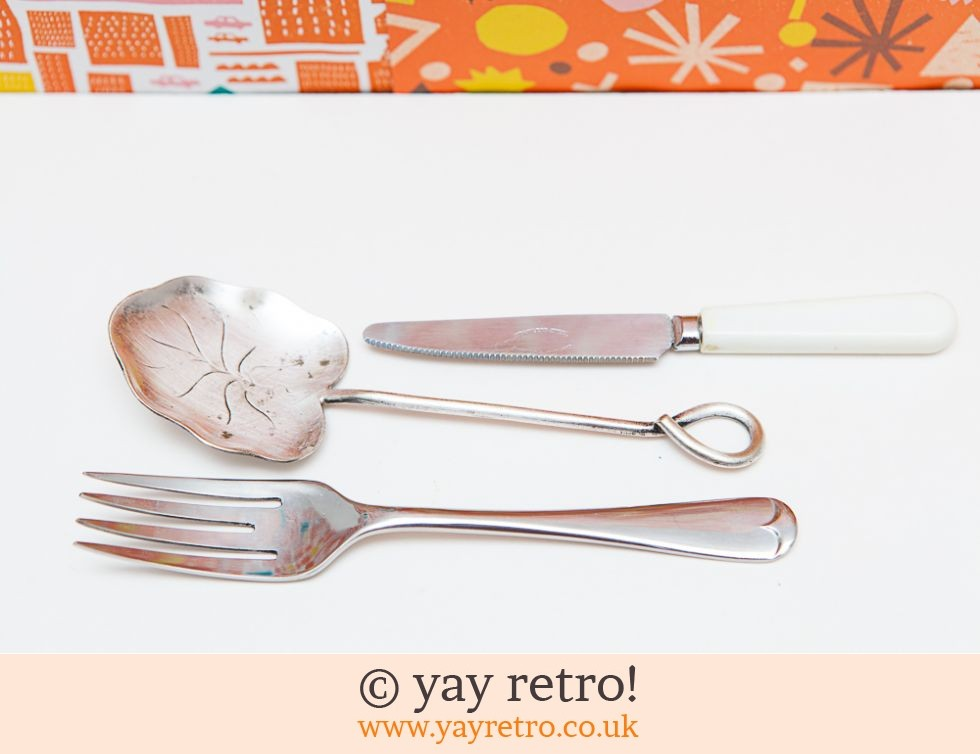 Sweet Vintage Jam Spoon, Knife & Fork (£8.50)