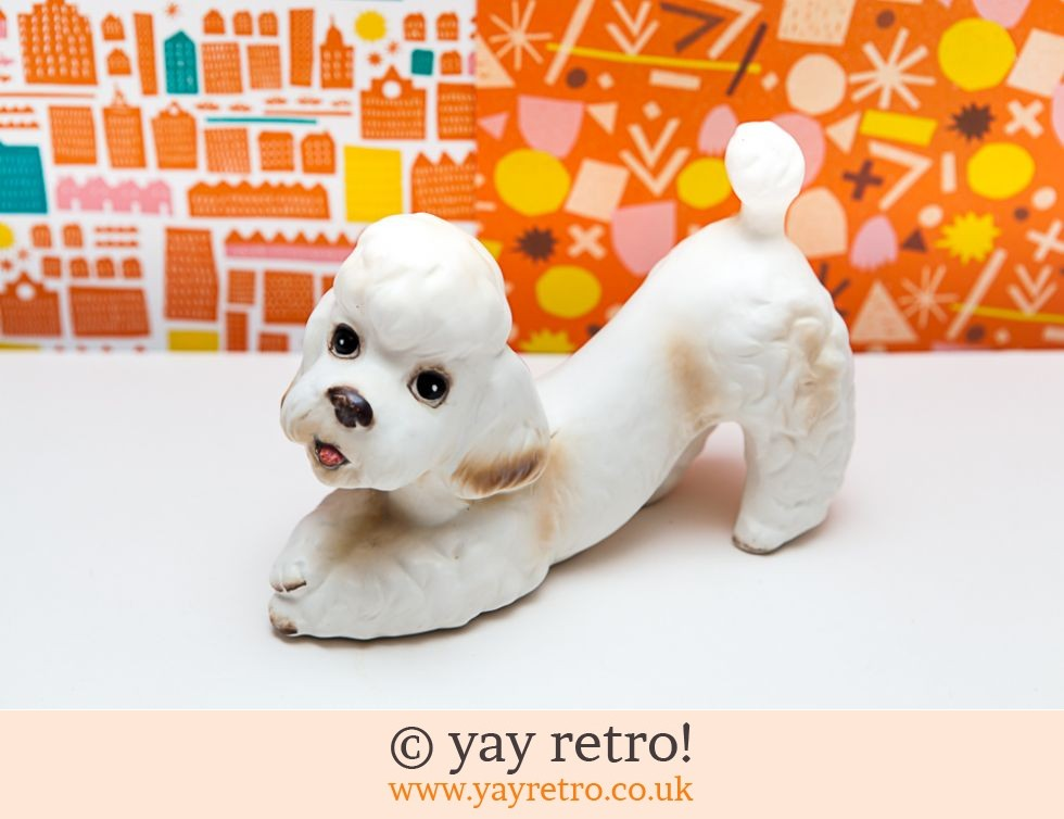 Large Vintage Poodle Ornament (£8.50)