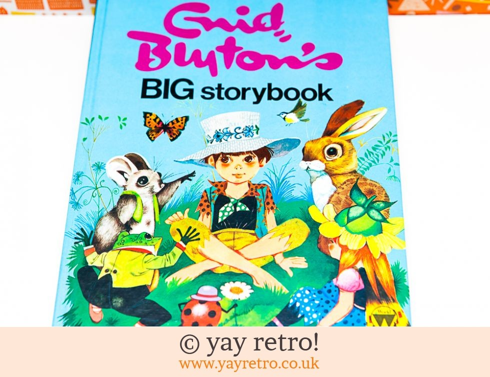 As new Vintage Enid Blyton Story Book - Fab Illustrations (£12.00)