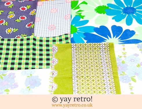 0: Blue & Green Vintage Scrap Pack 1960/70s (£8.00)