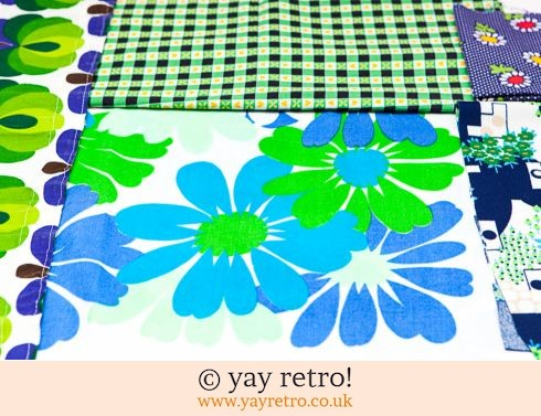 0: Green & Blue Vintage Scrap Pack 1960/70s (£9.00)