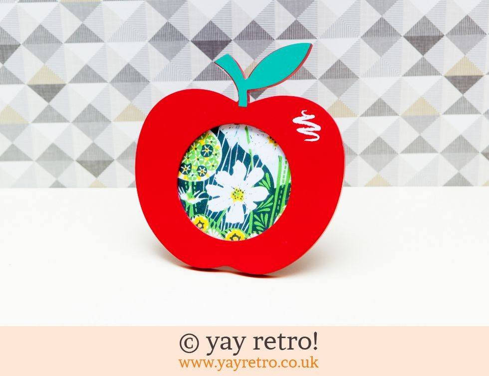 Wooden Apple Picture Frame Buy Yay Retro Handmade