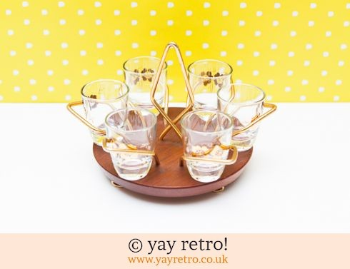 108: Wyncraft Shot Glasses & Stand (£19.75)