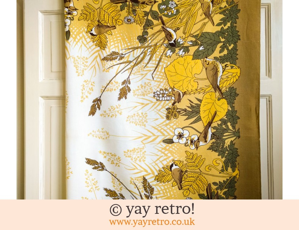 Vintage Birdy Tablecloth (£12.75)