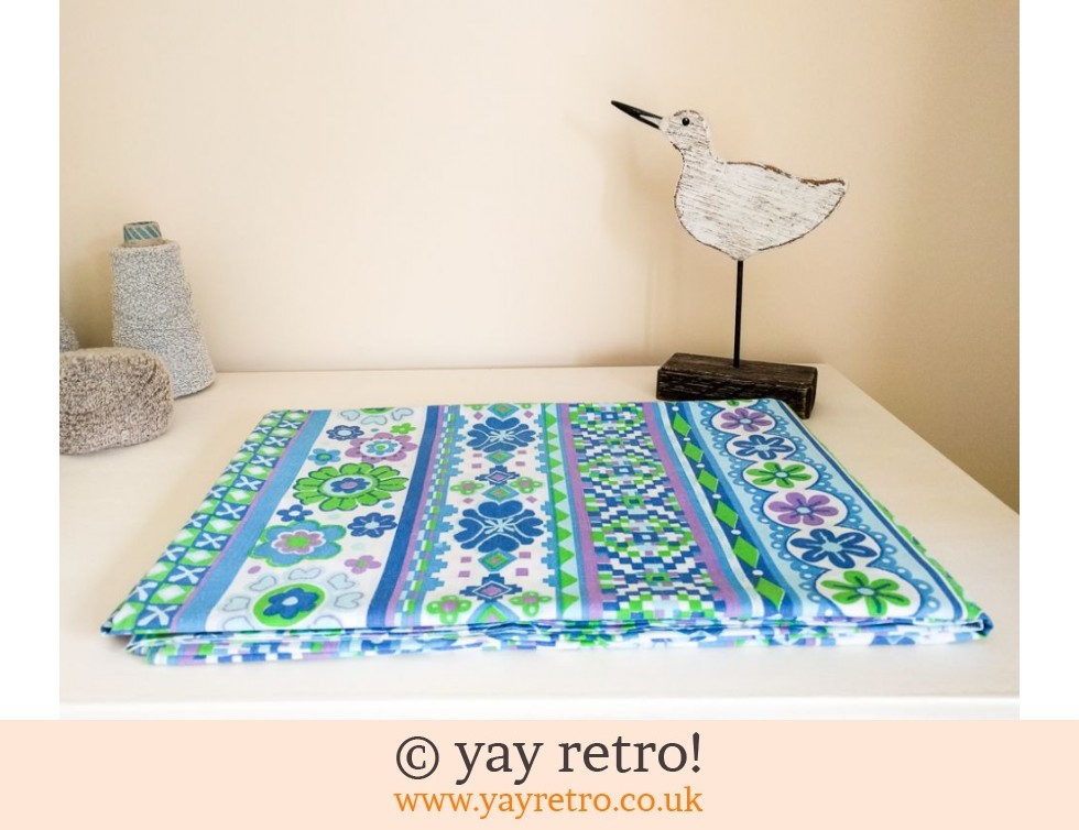 Stunning 1960/70s Single Bed Sheet (£16.95)