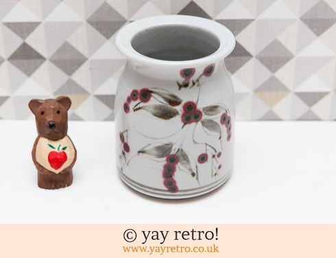 0: Pottery Vase/Utensil Holder / Jar (£8.00)