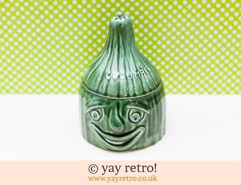 13: Sylvac Cucumber Face pot (£14.75)