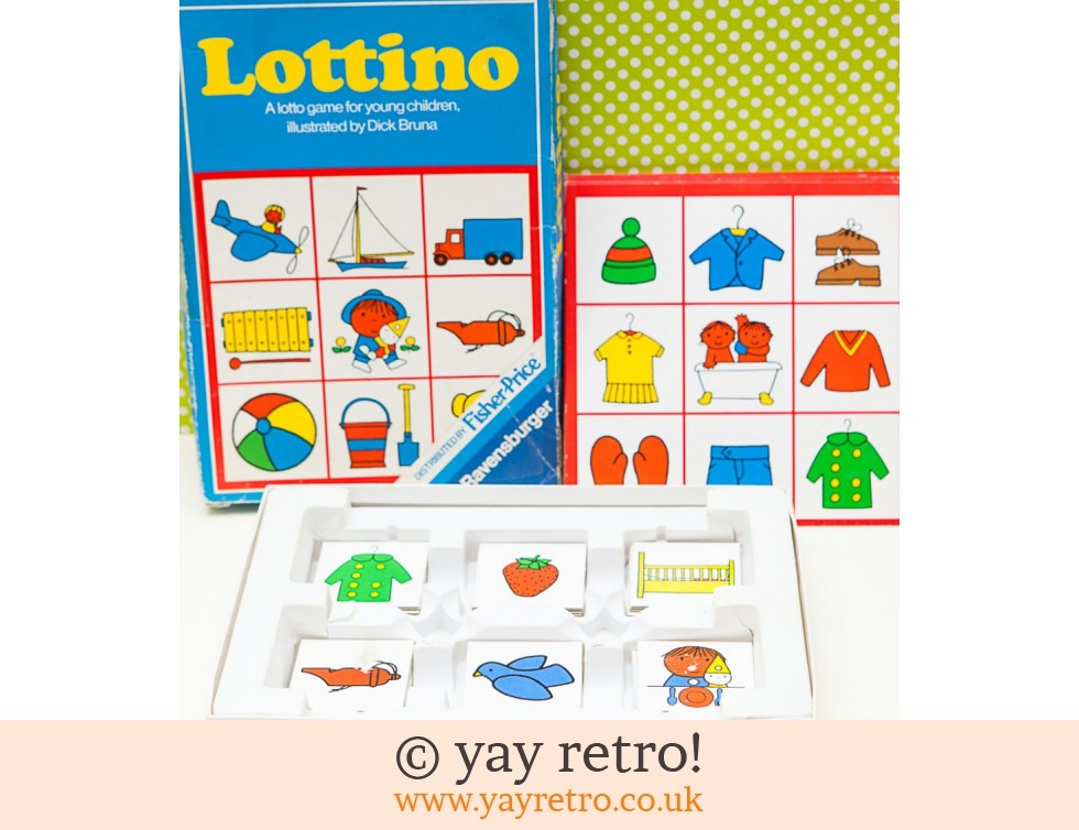 Fisher Price: Dick Bruna Lottino Game (£17.00)