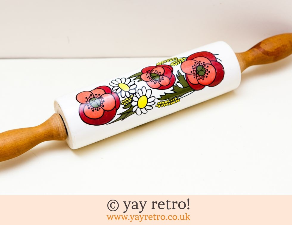 Taunton Vale Flowery Rolling Pin (£17.00)