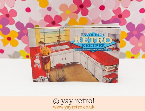 681: Favourite Retro Recipes with Vintage Kitchen Photos (£5.50)