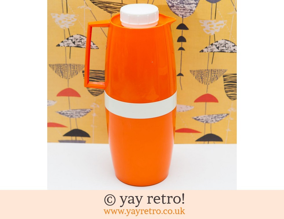 Vacco: Bright Orange Jug Thermo Flask (£18.50)