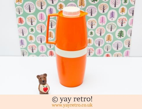 452: Bright Orange Jug Thermo Flask (£14.75)