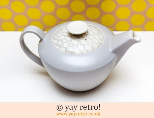 1: Grey Pebble Poole Teapot (Ultra Rare) (£75.00)