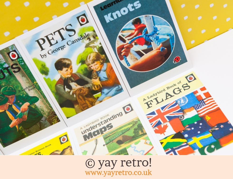 8 Ladybird Postcards (Boy Scouts) (£4.50)