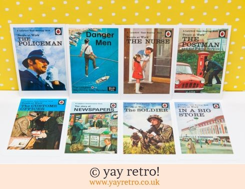 286: 8 Ladybird Postcards (Going to Work) (£5.00)