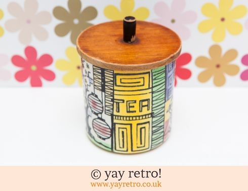 460: Gantofta Tea Jar (£18.00)