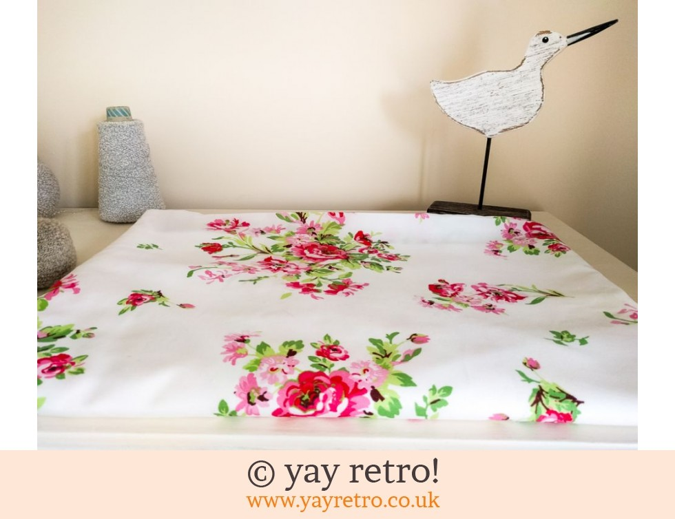 Rosy Single Duvet Cover (£6.90)