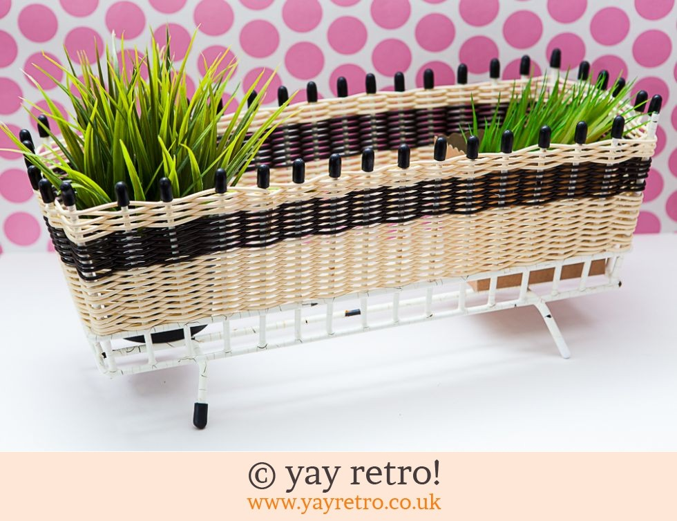 1950s Woven Wire Atomic Planter (£16.00)