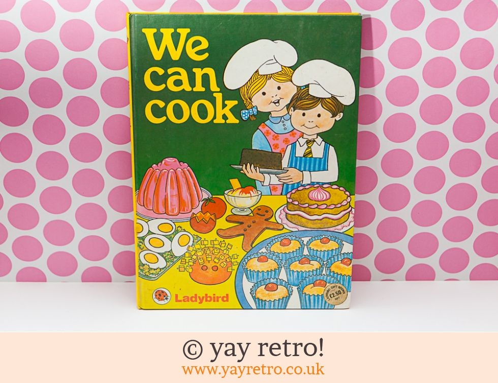 Ladybird: We Can Cook Ladybird Book (£12.75)