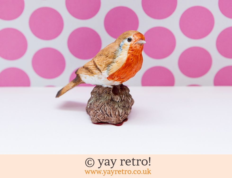 Pretty Robin Ornament (£4.50)