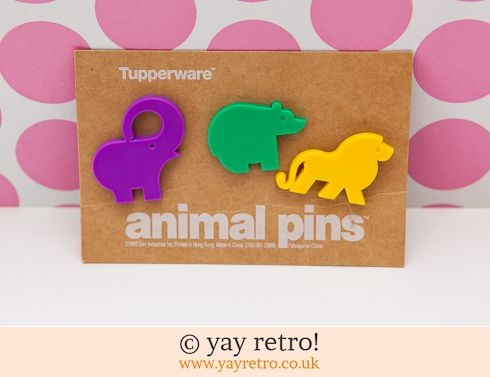 46: Trio of Stunning Kitsch Plastic Animal Brooches (£15.00)