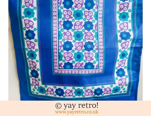 0: Stunning Unused Vintage 60s Tea Towel (£9.50)