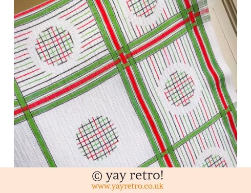 0: 1940/50s  Funky Tablecloth (£8.90)