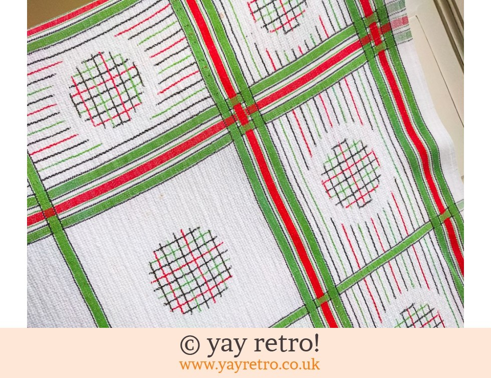 1940/50s  Funky Tablecloth (£8.90)