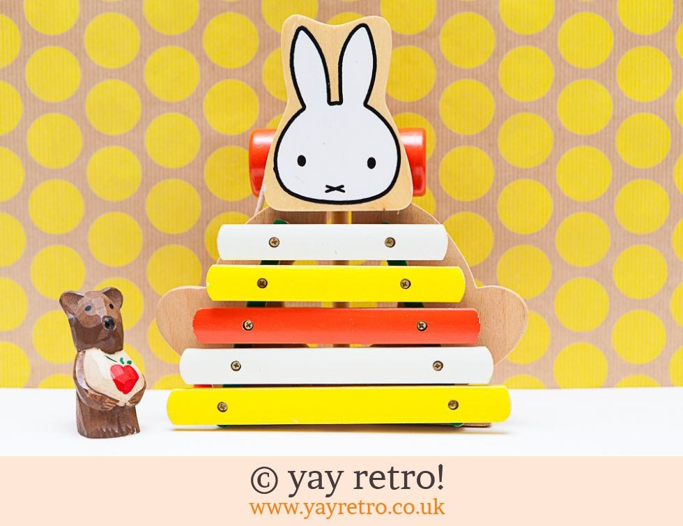 Wooden Miffy Xylophone (£14.00)