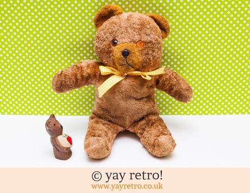 0: Vintage Teddy Bear - 60s (£8.50)