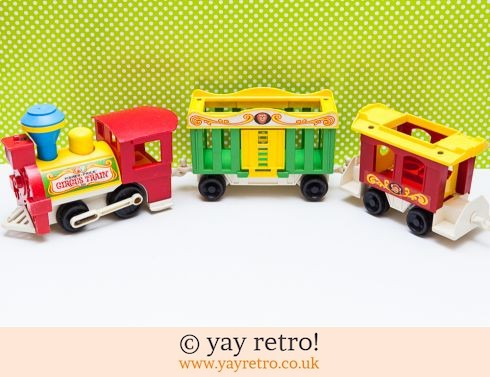 535: Vintage Fisher Price Circus Train (£13.50)