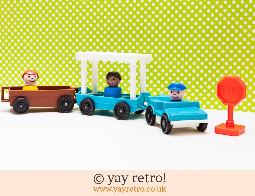 Vintage Fisher Price Car, Trucks & People Set (£11.50)