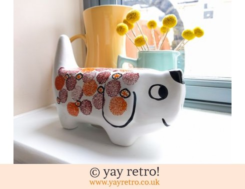 71: Arthur Wood Dog Money Box (£39.50)