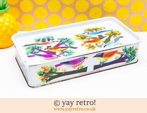 605: Cadburys Vintage Bird Tin (£22.75)