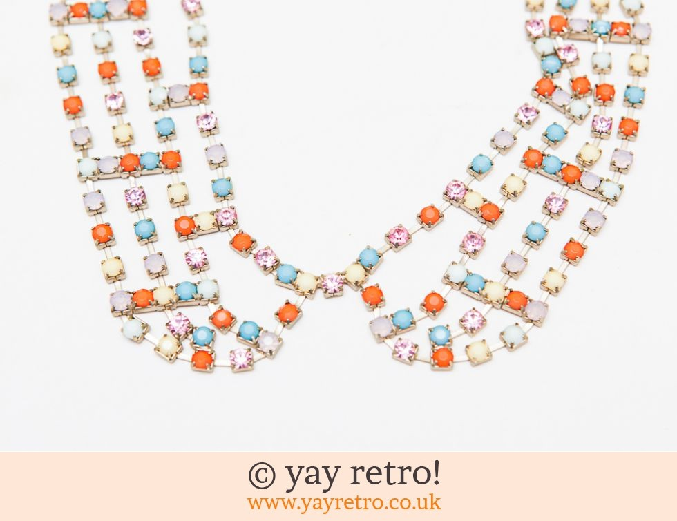 Vintage Beaded Collar Necklace (£11.50)