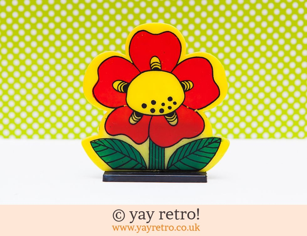 Flower Power Pen Holder Ornament (£13.50)