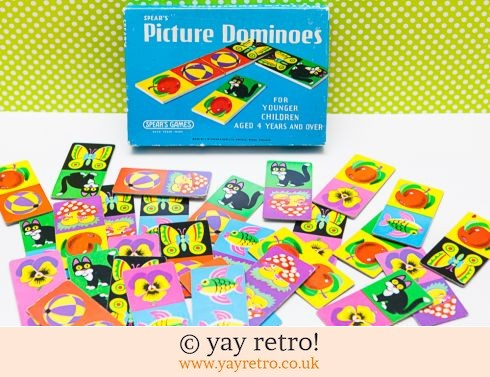 232: Vintage Picture Dominoes 1960s (£14.25)