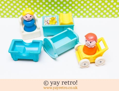535: Fisher Price Nursery Set (£9.50)
